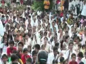 Potta Popular Mission Convention at St.John the Baptist Chruch  2011 part 1